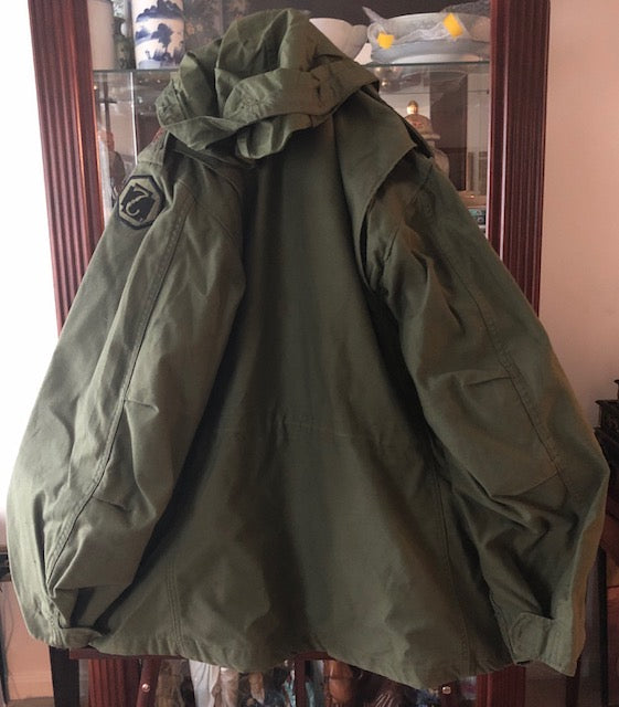 Cold Weather Military Field Coat