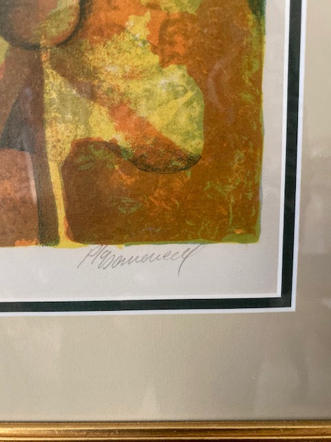 Pla Domenech Signed and Numbered Lithograph