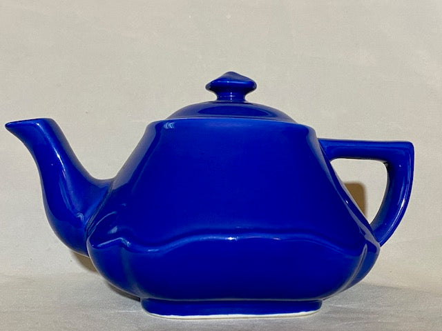 Hall Baltimore Style Cobalt Blue Teapot