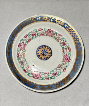 18th to early 19th Century Chinese Export Porcelain Dish
