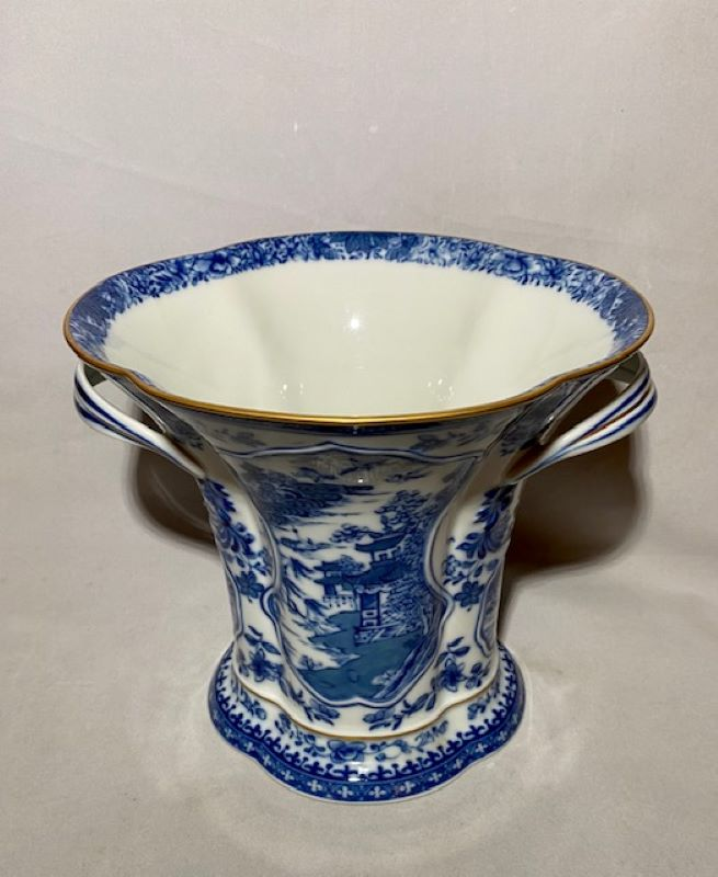Mottahedeh Blue Canton Bough Vase Historic Charleston