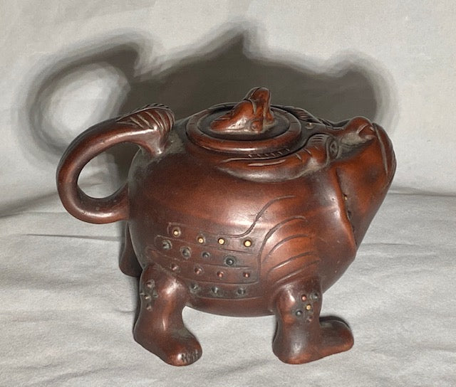 Unique Handcrafted Yixing Teapot