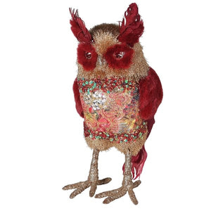 Ruby Fur and Feather Owl