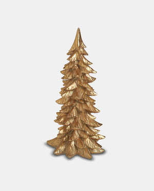 Gold Decorative Christmas Tree