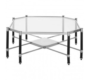 Allessi Silver Chrome Coffee Table