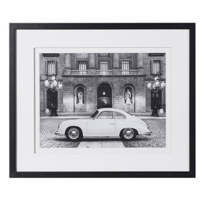 Black Framed Porsche Picture
