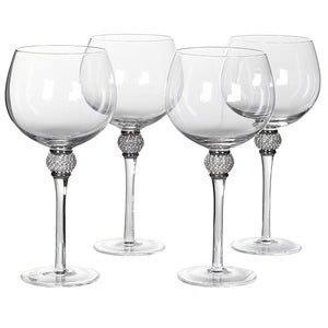 Diamanté Gin Glasses in 2 Colours