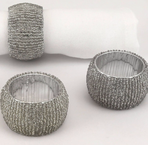 Beaded Style Napkin Rings