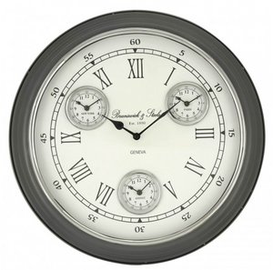 4 Time Zone Wall Clock