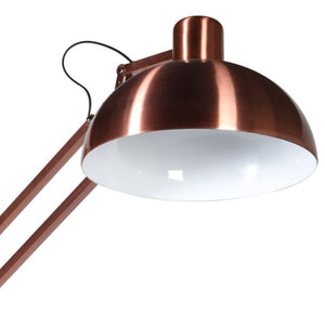 Copper Angle Floor Lamp