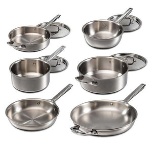 Wolf Gourmet Six-Piece Cookware Set