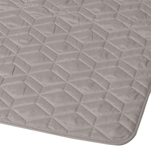 Superking Grey Diamond Bedspread