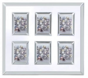 Mirrored Glitz Multi Photo Frame