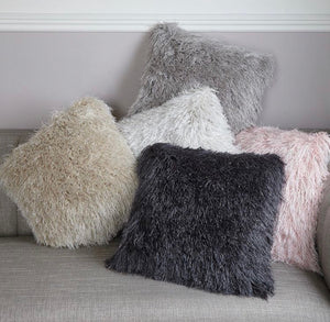 Glittery Cushion in Various Colours