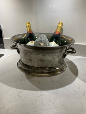 Rustic Look Champagne Ice Bucket