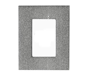 Leather Shagreen Photo Frame
