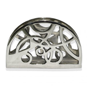 Nickel Swirl Napkin Holder
