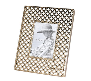 Criss Cross Photo Frame