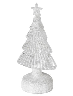 Glitter Lit Star Top Tree