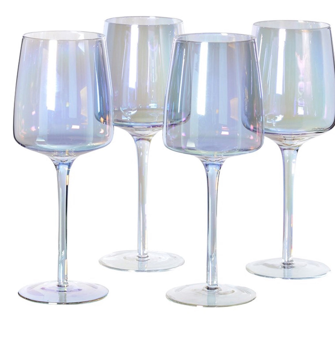Iridescent White Wine Glass (Set of Four)