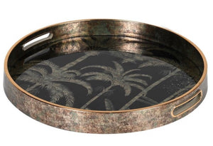 Palm Tree Patterned Tray