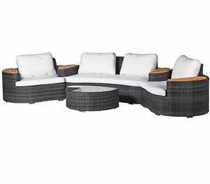 Curves Outdoor Garden Set