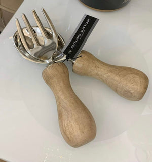 Wooden Handle Salad Servers