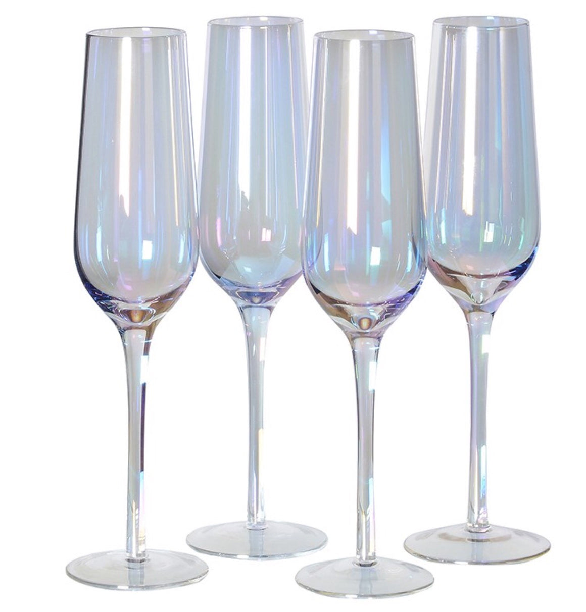 Iridescent Champagne Glass (Set of 4)