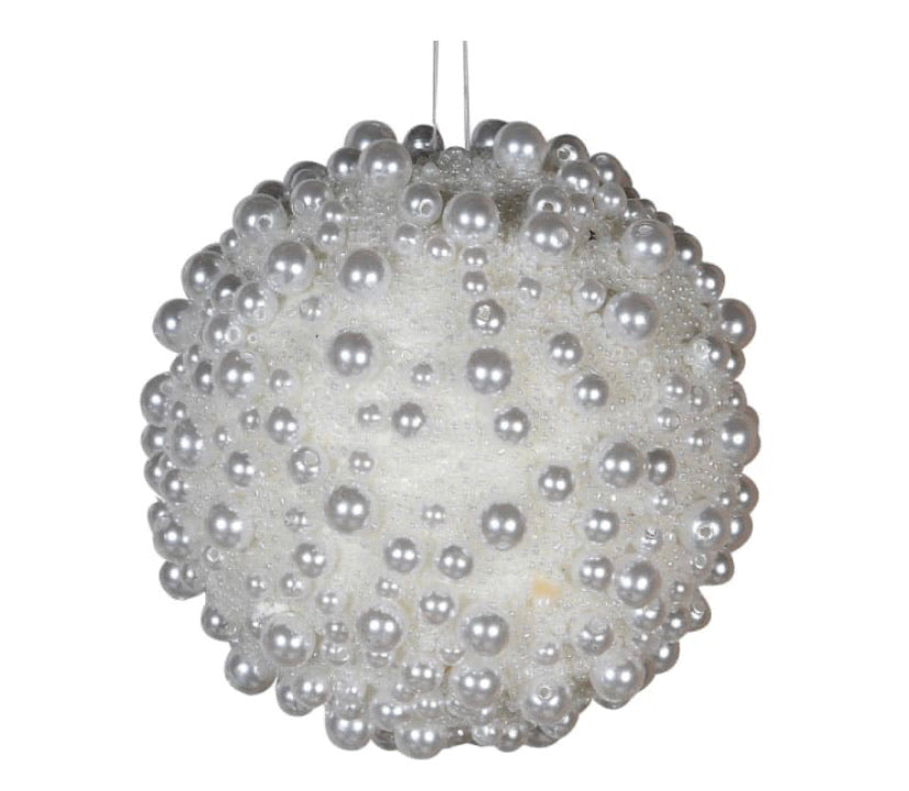 White Bobble Bauble