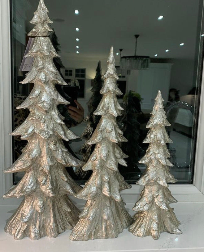 Silver Decorative Christmas Tree