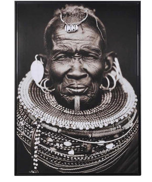 African Tribal Man Picture