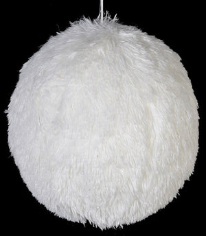Large White Hanging Snowball