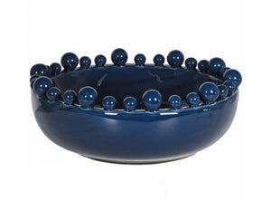 Dark Blue Bobble Dish