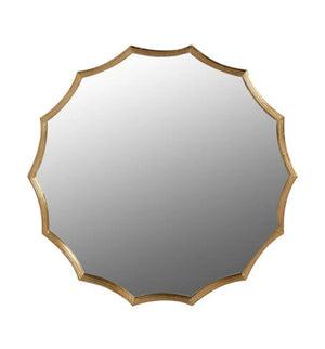Gold Edge Wall Mirror