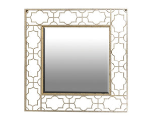 Gold Cut-Out Metal Mirror