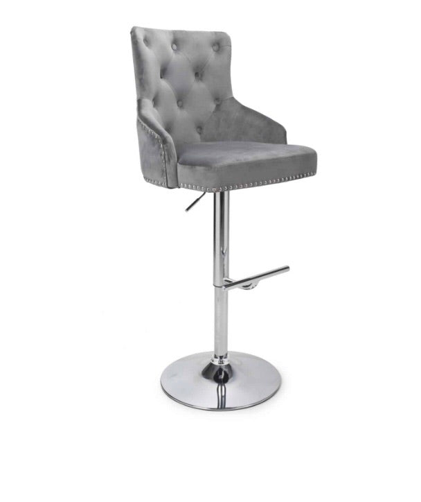 Luxury Studded Bar Stool in Various Colours