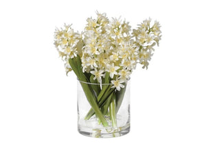 White Hyacinth Arrangement