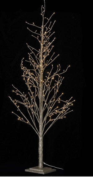 Champagne Twig Tree with 270 LED Lights