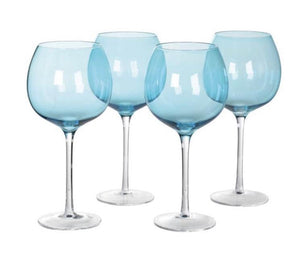 Blue Gin Glasses