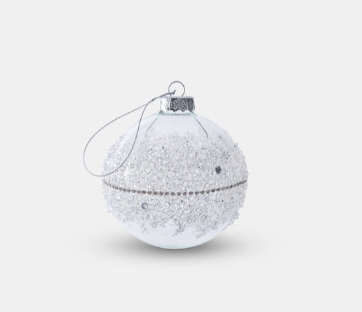 Glass Crystal Bauble