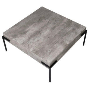 Concrete Look Coffee Table
