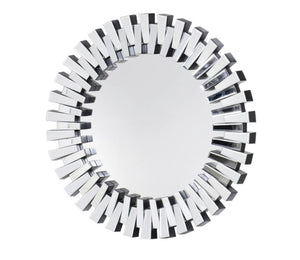 Glass Round Pieced Mirror