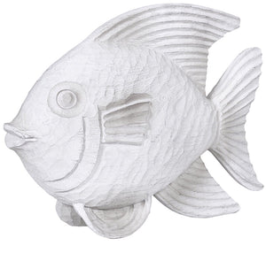 White Wooden Fish