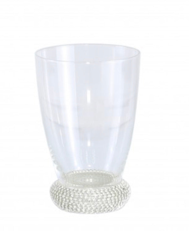 Silver Diamanté Base Glass