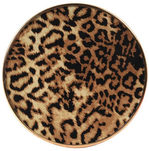 Set of 4 Leopard Print Coasters