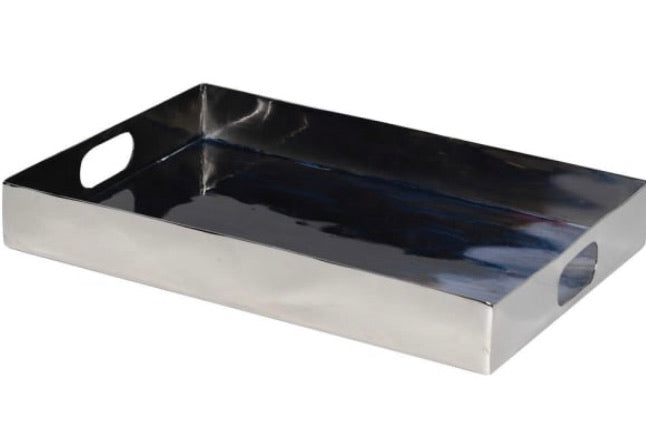Nickel Tanzanite Enamel Tray