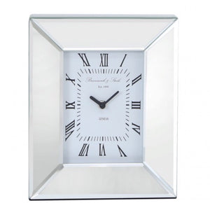 Mirrored Table Clock