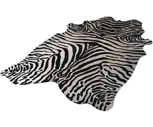 Hairon Zebra Hide Rug