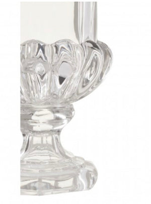 Glass Vase with Round Base