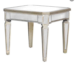 Champagne Trim End Table